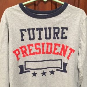 Boy's Future President Shirt